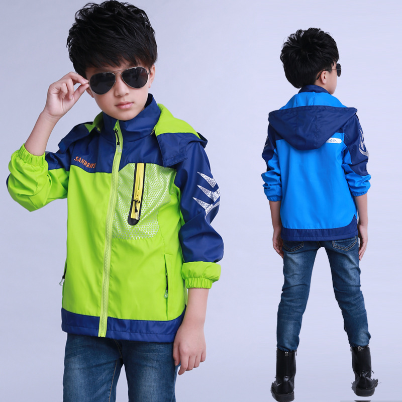 Kids Clothes 2019 new Spring Autumn Long Sleeve Children Clothing Patchwork Sport Baby coat 4 14 Baby Boy Clothes in Jackets Coats from Mother Kids