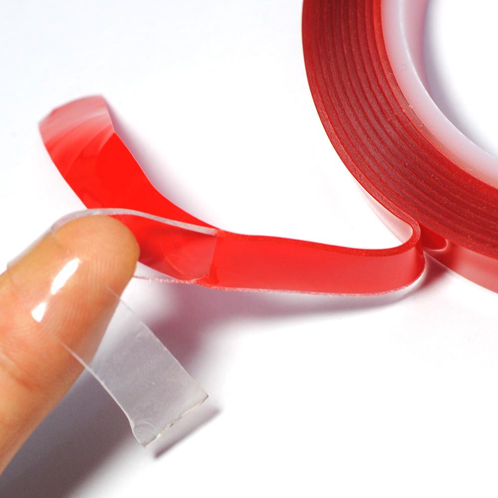 HTB1XJbrRFXXXXaSapXXq6xXFXXXQ - 1CM Width 3M Length Car Sticker Double Foam Faced Adhesive Tape Auto Glue Sticker Multi-functional Car Accessories Car-styling