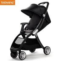 Babysing K GO Роскошные коляски всесезонные путешествовать налегке зонтик автомобиль коляска складная детская коляска Марка коляска