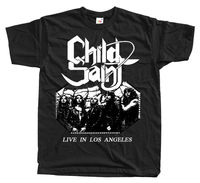 Child Saint Live In Los Angeles T SHIRT Black All Sizes S 5XL 100 Cotton