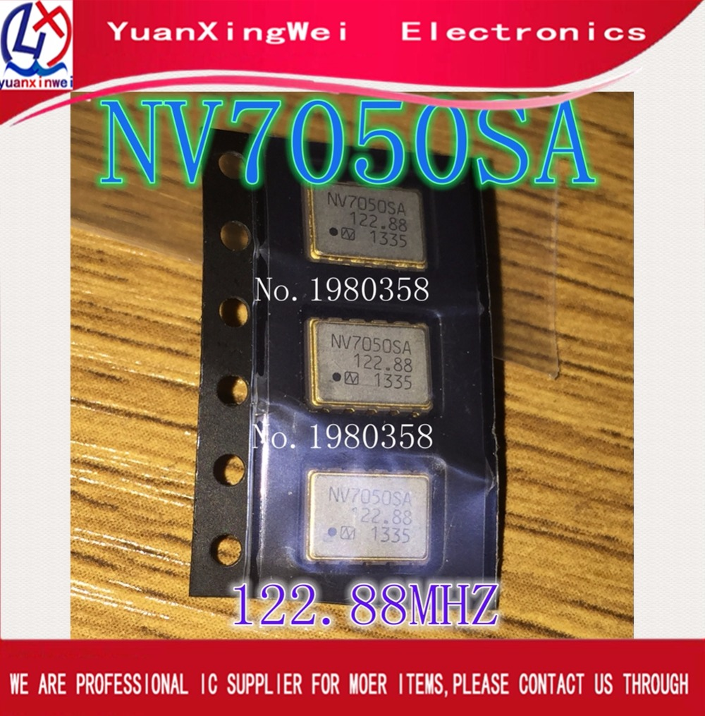 NV7050SA 122.88MHZ NV7050 122.88 M voltage-controlled crystal vibration 122.88 MHZ vcxo crystals