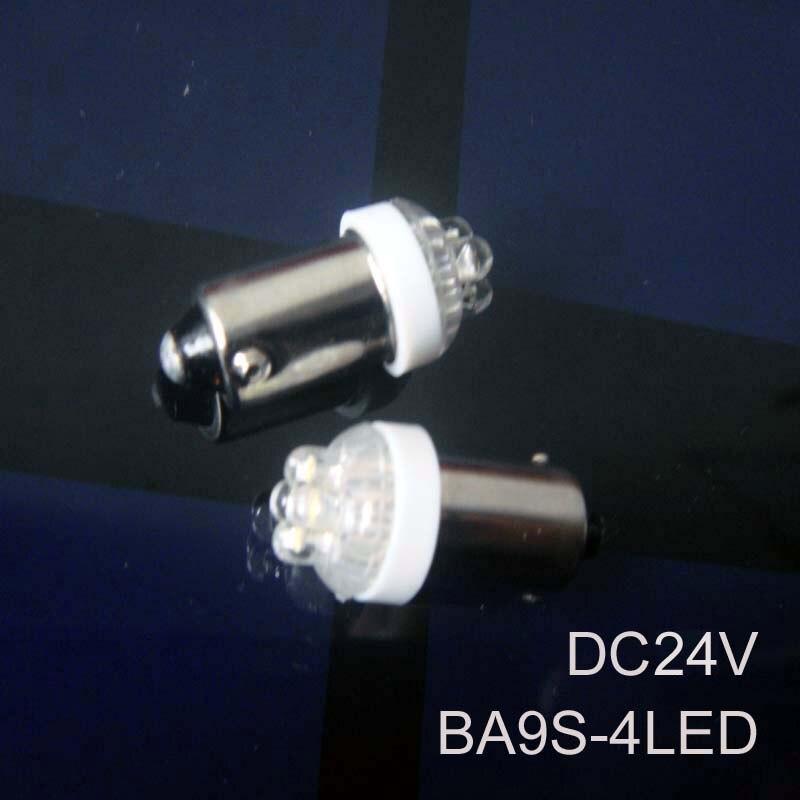 High quality BA9s 24v led lamp,BA9s led 24v Indicator Light led Pilot lamps BA9s 24v led Signal lights free shipping 100pcs/lot