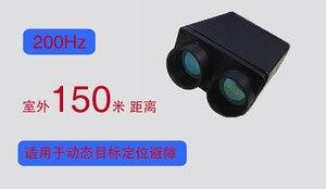 150 meters outdoor laser ranging sensor radar distance module infrared altimeter speed measuring measuring positioning sensor