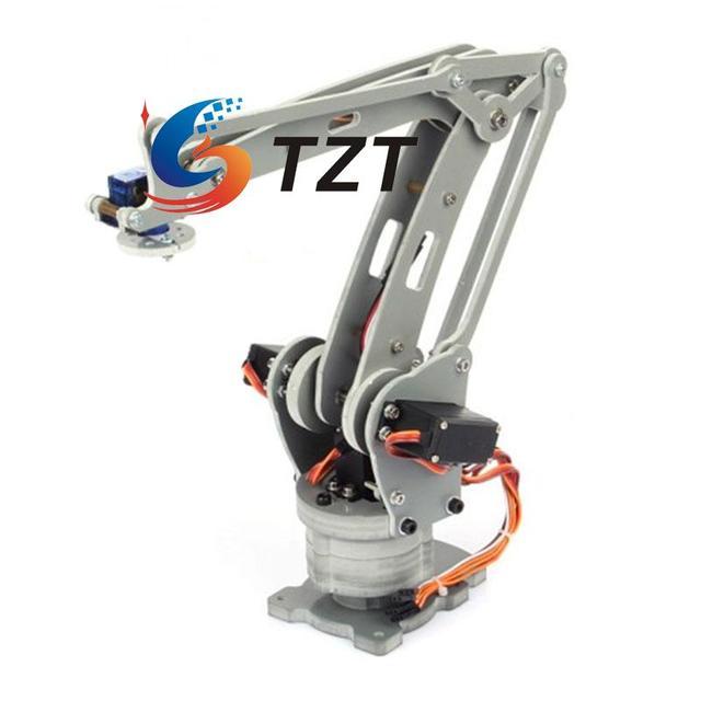 ABB IRB460 Robot Mechanical Arm 4DOF Palletizing Manipulator Rack With Servos Controller Power Supply For Arduino