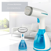 Handheld Iron Steamer for Cloth 1500W Powerful Garment Steamer for Home Travelling Portable Steam Iron with Brushes