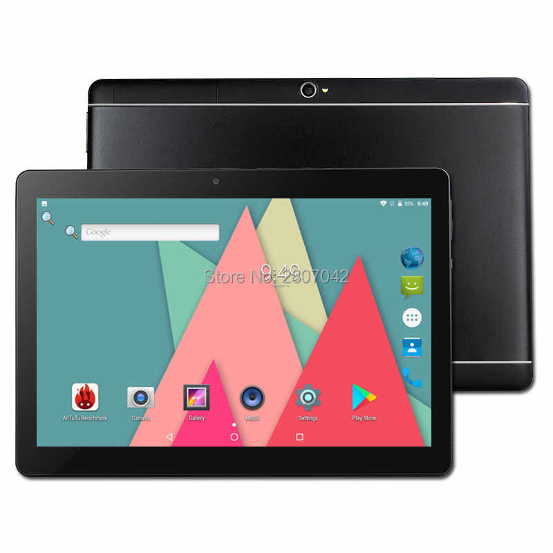 Free Shipping Android 9.0 Newest MTK8752 Octa Core 3G 4G Phone Call 10 inch Tablet PC 4GB RAM 32GB ROM  Bluetooth GPS Phablet