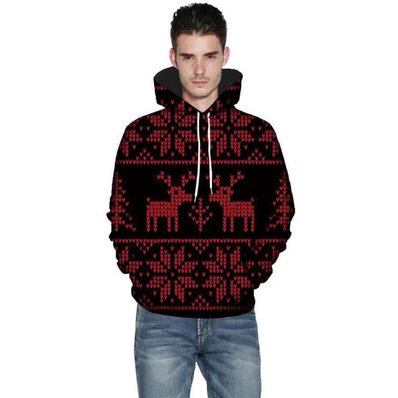 Christmas Couples Hoodies Women Man Running Jackets 3D Print Long Sleeve Winter Hoodies Top Blouse Shirts #2N20 (20)