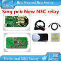 A+ quality Single pcb with New NEC relay 2015.1 free active TCS CDP PRO PLUS new vci cdp pro without bluetooth