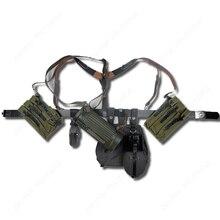 Немецкий P38/P40 холщовый мешок оборудования сочетание пояса солдата и у ремнями