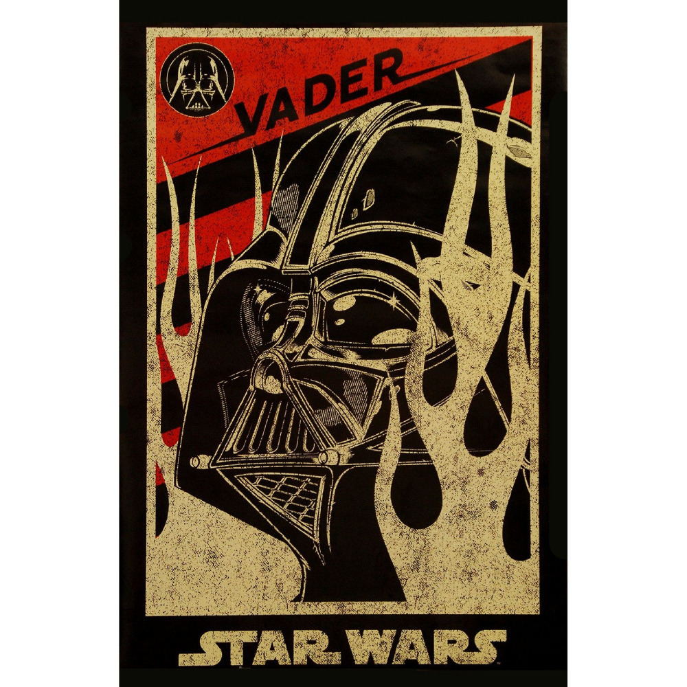 Novelty Print Your Own Picture On Room Wall Star Wars Darth Vader Poster Wall  Sticker By 50x75CM In Wall Stickers From Home U0026 Garden On Aliexpress.com ...