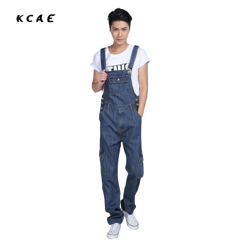 New Fashion Designer Plus Size S-5XL Mens Denim Bib Overalls Blue Loose Baggy Washed Vintage Jean Jumpsuit For Male нож olfa с лезвием крком ol hok 1