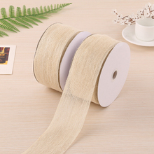20m translucent Hemp ribbon trim sewing bias for handicraft ribbons DIY for wedding gift wrapping Sewing Decoration accessories 6yards lot mix printed trim geometric ribbons diy wrapping wedding party hair bow decoration art sewing accessories 040054006