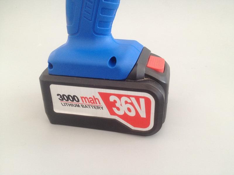 Chiave elettrica di ricarica calda di vendita 36v 3000mah con due - Utensili elettrici - Fotografia 3