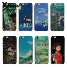 Yinuoda Hayao Miyazaki Spirited Away Colorful Cute Phone Accessories Case For iPhone 6 6plus 7 7Plus 8 8plus X XS XR XSMax(China)