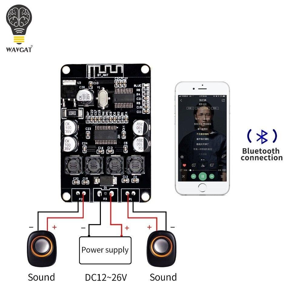 Board para Bluetooth Vhm 313 Tpa3110 Tpa3110d2 2×15 w Bluetooth Digital Audio Power Amplifier Speaker
