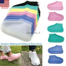 Водонепроницаемая обувь; уличная многоразовая обувь для дождливой погоды; Непромокаемые Силиконовые Резиновые сапоги для верховой езды; обувь для мужчин и женщин; аксессуары
