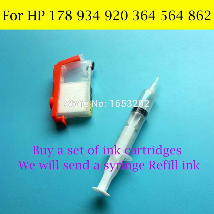 For HP 178 920 934 364 564 862 Refill Ink 1