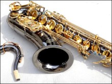 French Salmer 54 B Tenor Saxophone Top Musical Instrument Saxe Wear-resistant PlBlack Nickel ated Gold Professional Sax