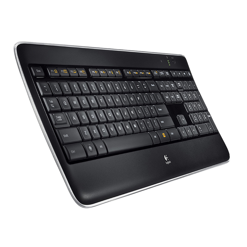 New arrival Logitech k800 bluetooth wireless keyboard