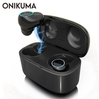 ONIKUMA T3 TWS True Wireless Mini Earbuds Headset Bluetooth 5.0 Earphones IPX5 Cordless Sports Headsets Handsfree with Mic