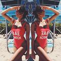 2016 Mono Atractivo Backless BAE RELOJ de Una sola Pieza Del Traje de Baño Fotografica Beach traje de Baño Traje de Baño Para Las Mujeres Monokini traje de Baño trajes