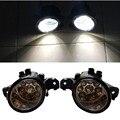 Para NISSAN MICRA 2002-2013 estilo Do Carro amortecedor dianteiro Faróis de neblina LED alto brilho faróis de nevoeiro 1 conjunto