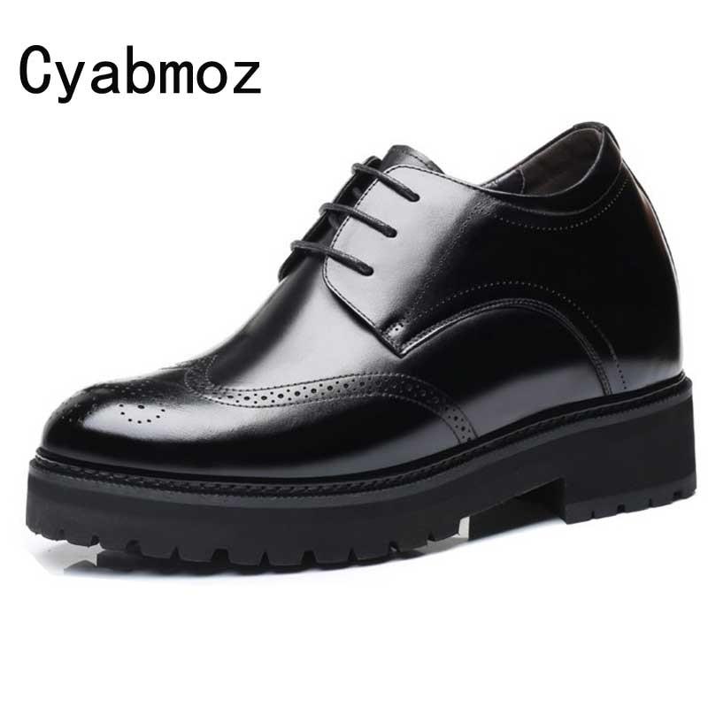 High Heels Brogues Shoes Oxfords