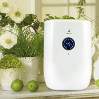 800Ml Electric Air Dehumidifier For Home Portable Moisture Absorbing Air Dryer With Auto Off And Led Indicator Air Dehumidifie
