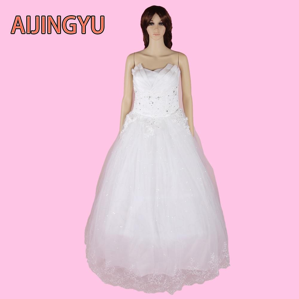 AIJINGYU 2018 new free shipping sweetheart wedding dresses turkey china  weddingdress sexy women girl wedding dress YD139-in Wedding Dresses from  Weddings ... fccd198acdfb