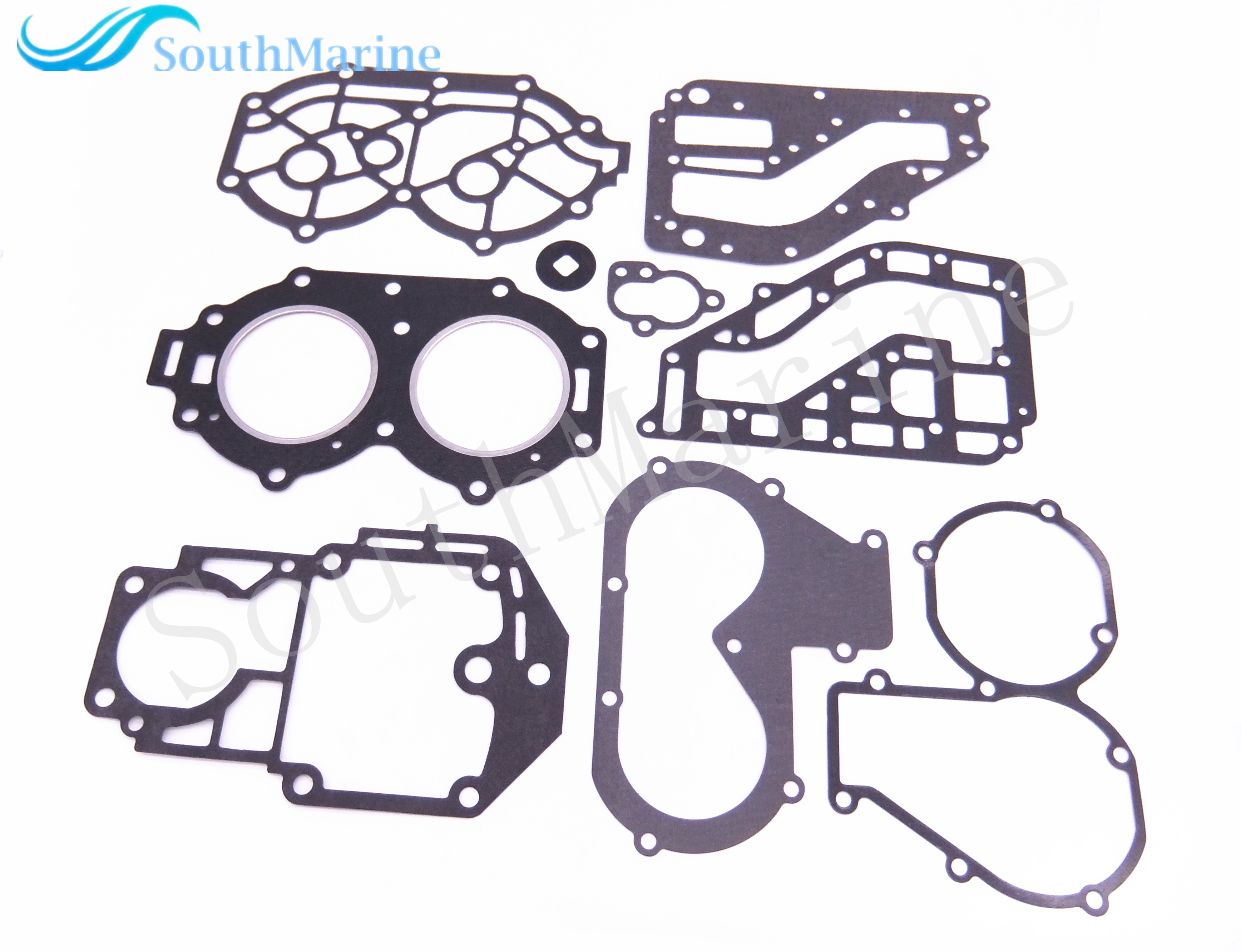 Outboard Engine Complete Power Head Seal Gasket Kit for Yamaha 25HP 30HP Boat Motor Free Shipping 67h 43880 00 new tilt trim motor for yamaha 115 225 hp 1997 2002 outboard engine power motor 64e 43880