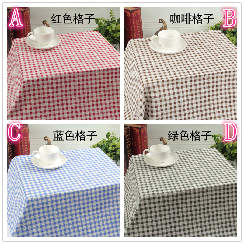 Selfless 50x150cm 4 Colors Grid Fabric Table Cloth Diy Handmade Sewing Pillow Cover Patchwork Sofa Curtain Tablecloth Bag Doll Wallet Nourishing The Kidneys Relieving Rheumatism Apparel Sewing & Fabric