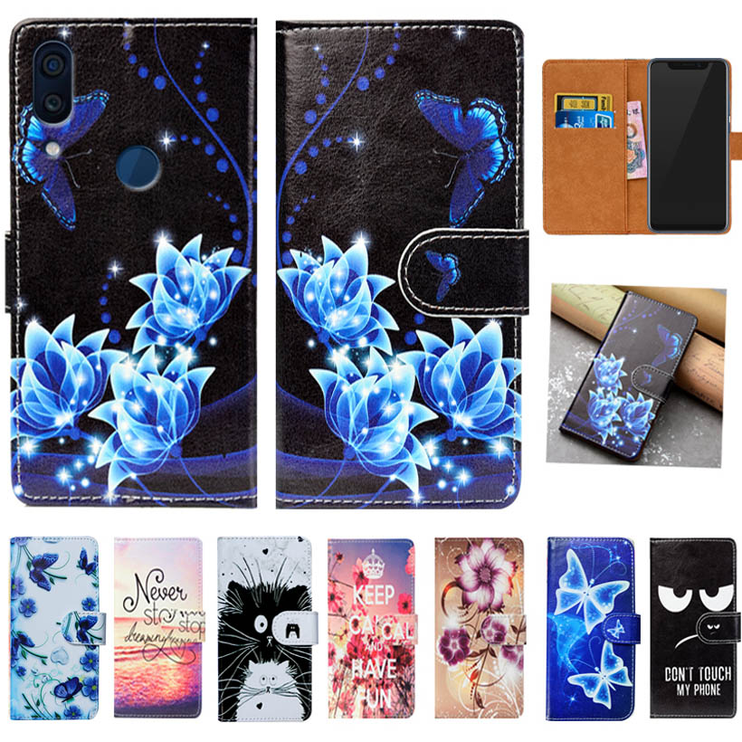 For ZTE Axon 9 Pro Case High Quality Pu Leather 6.21