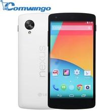 Original LG Google Nexus 5 D820 Quad Core GSM 3G&4G 8MP Smart Android phone WIFI GPS 2GB RAM 16GB/32GB ROM Cell Phone