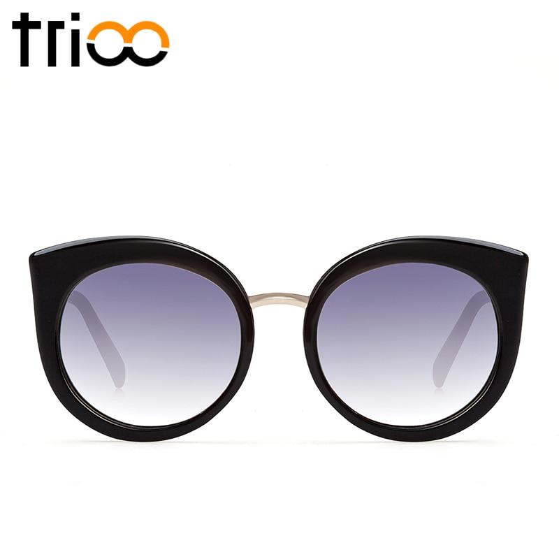 TRIOO UV400 Qoruyucu xanımlar Pişikli göz eynəkləri böyük - Geyim aksesuarları - Fotoqrafiya 3