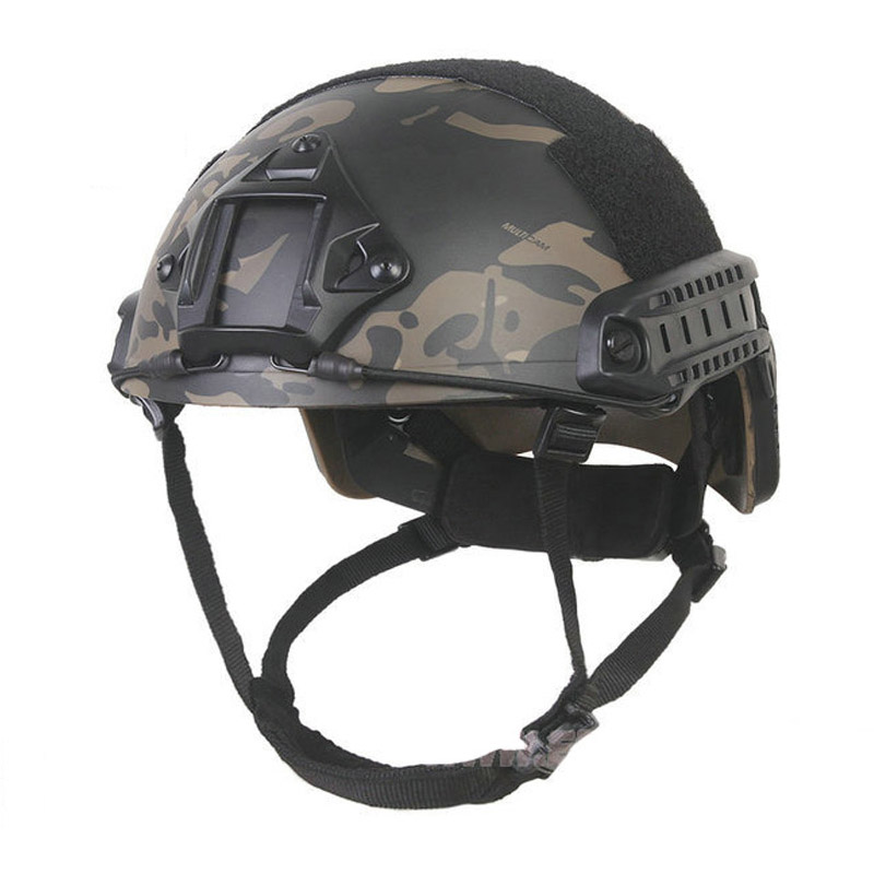 EMERSONgea FAST Helmet MCBK&WG MH Type Tactical Combat Gear Sports Safety Military airsoft helmet free shipping 2015 new kryptek typhon pilot fast helmet airsoft mh adjustable abs helmet ph0601 typhon