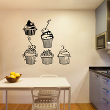 Free shipping ice cream Wall Stickers Decorative Sticker Home Decor Waterproof Decals Rooms Decoration