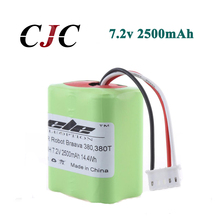 Eleoption High Quality New 7 2V 2500mAh Vacuum Replacement Battery For iRobot Roomba Braava 380 380T