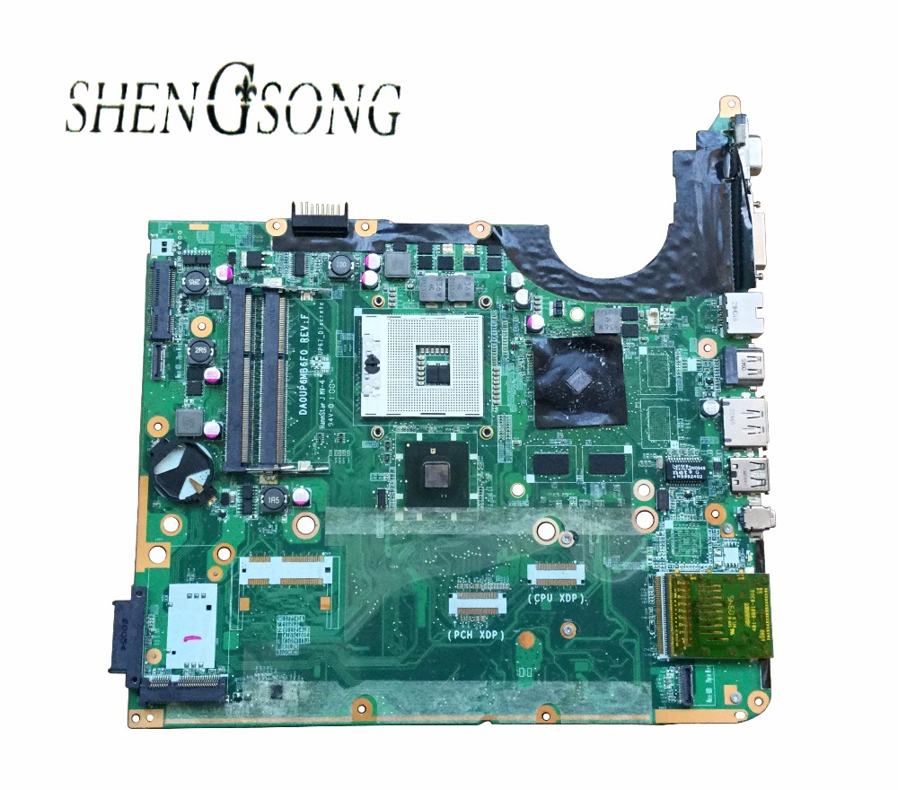 Free Shipping 600862-001 580973-001 motherboard for HP Pavilion DV7 DV7T DV7T-3100 motherboard 100% working