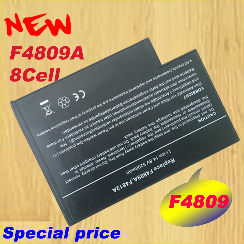 HSW 8Cells <font><b>5200mAh</b></font> Battery for hp 916-2150 916-2160 916-2310 BLP1199 F4098A F4809-60901 for F4809A F4812A image