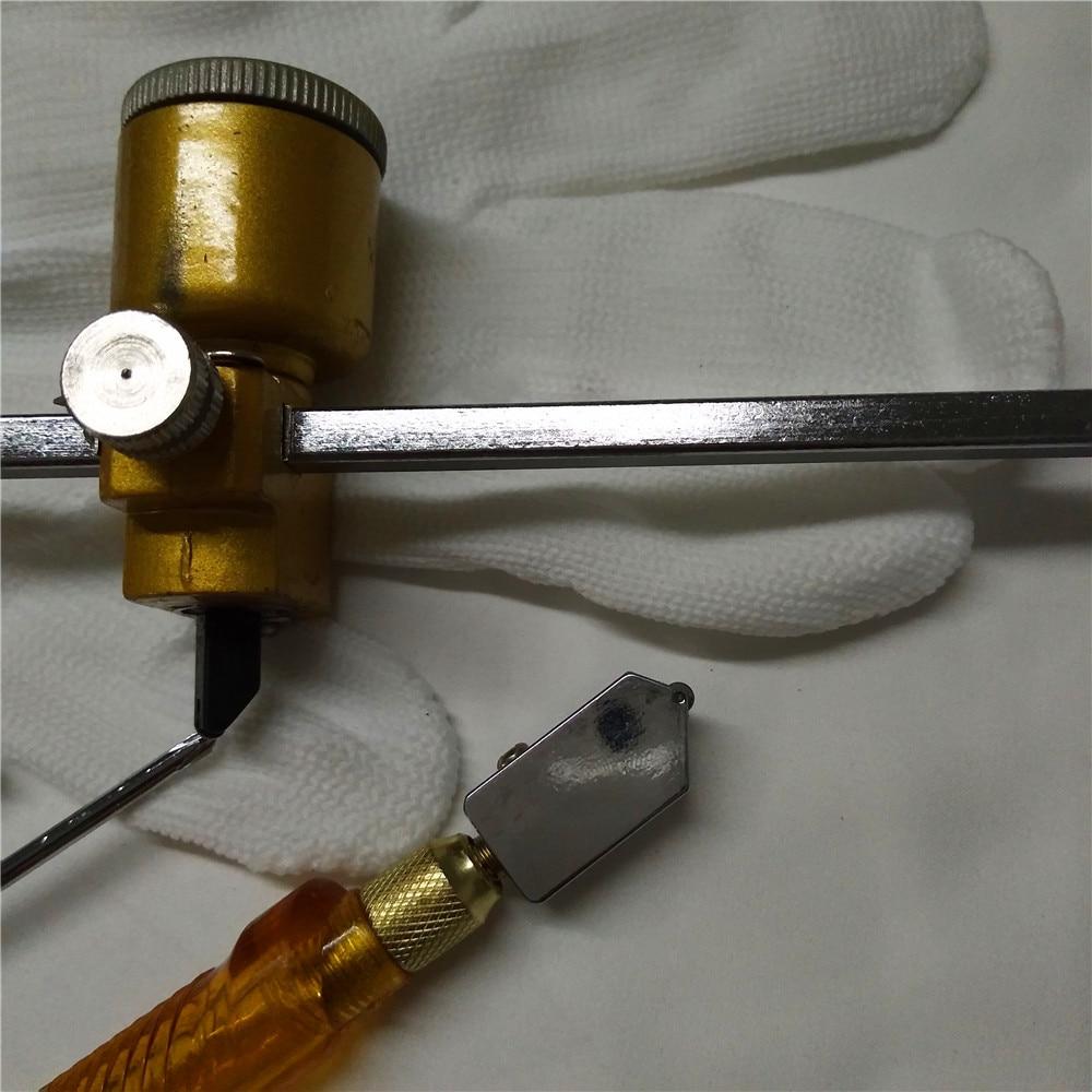5vnt / rinkinys 40cm stiklo kompaso peilis Dūmų lempos juodos - Statybos įrankiai - Nuotrauka 4