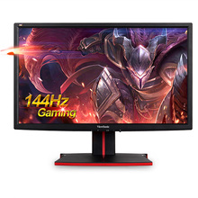 "freeshipping 24"" LCD monitor HDMI+usb+DP Resolution 1920*1080 TN panel screen desktop display 24 INCH ViewSonic VG2401mh 144hz(China (Mainland))"