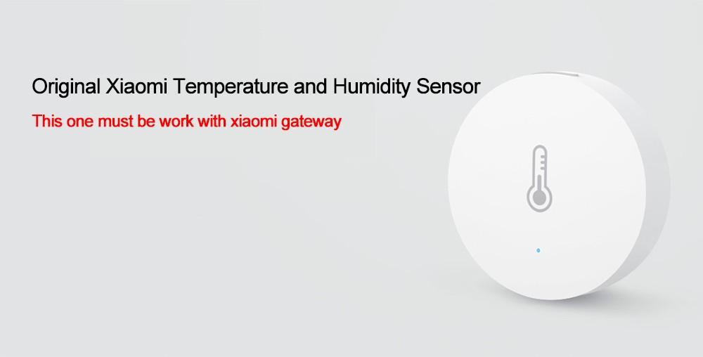 Oryginalny Xiaomi Mi Inteligentny Czujnik Temperatury i Wilgotności, umieścić dziecko Home office Praca Z Android IOS APP 5