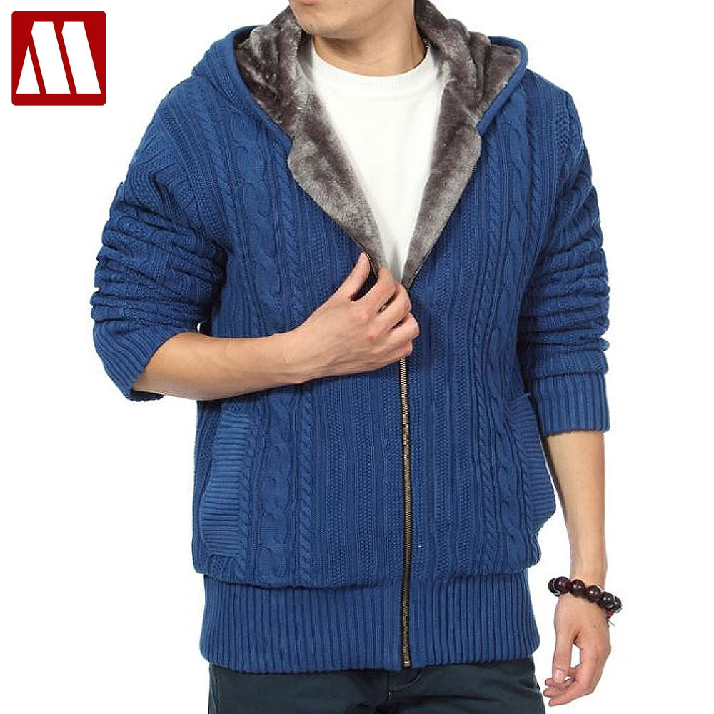 Popular Mens Hooded Cardigan Sweater-Buy Cheap Mens Hooded ...