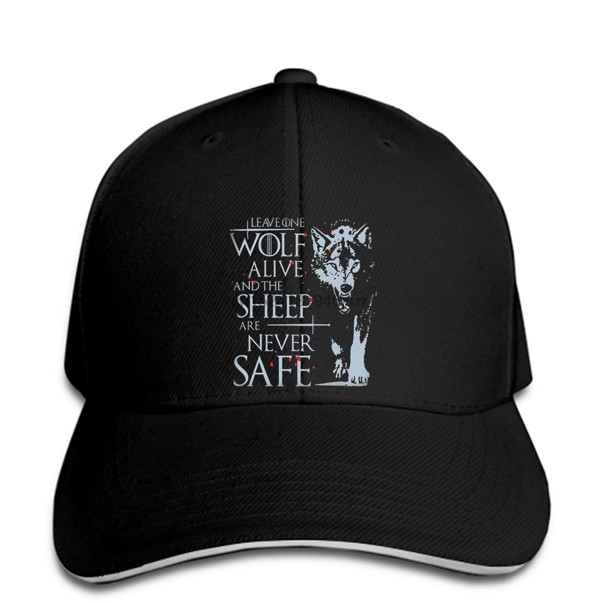 925e4fc7ef0 hip hop Baseball caps Arya Stark cap Game Of Thrones cap Leave One Wolf  Alive Men women Unisex s snapback-in Baseball Caps from Apparel Accessories  on ...