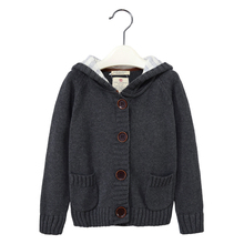 MamaLove Autumn/Winter Long Sleeve Boys Sweater for Boy Cardigan Childrens Sweater Thermal 2-9years Warm Outerwear Boys Clothing