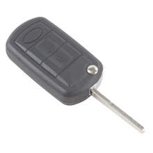3Button Remote Blank Car Key Shell Case Uncut Blade/Car Keyless Cover Replacement For Land Rover Range Rover Sport LR3 Discovery 2 buttons uncut blade keyless entry remote key shell case for rover land rover freelander zs zr 200 400 25 45 refit key shell