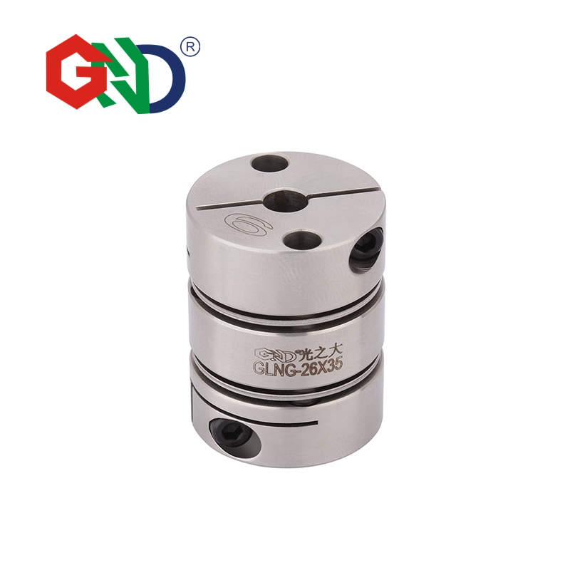GLNG Stainless Steel Double Diaphragm Clamp Series shaft couplerGLNG Stainless Steel Double Diaphragm Clamp Series shaft coupler