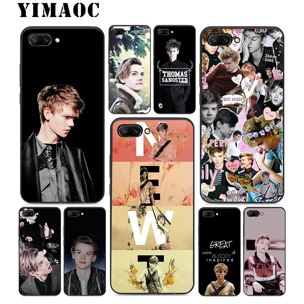 sale retailer 13ab1 74c56 US $2.31 23% OFF YIMAOC Thomas Brodie Sangster Tv Silicone Case For Huawei  Honor Mate 10 P20 P10 P9 P8 P Smart Y6 6A 7A 7X 7C Lite Pro 2017 2018-in ...