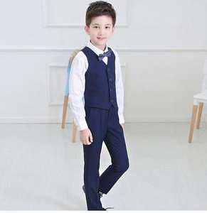 688a7d7c3 LOTTLA TOGER children Boys suit Kids Wedding 4 pcs