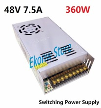 360W 48V 7.5A Switching Power Supply Factory Outlet SMPS Driver AC110-220V DC48V Transformer for LED Strip Light Module Display